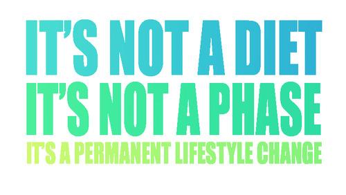 Lifestyle change examples